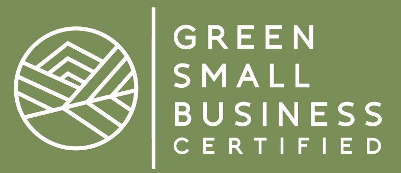 Green Small business certification logo